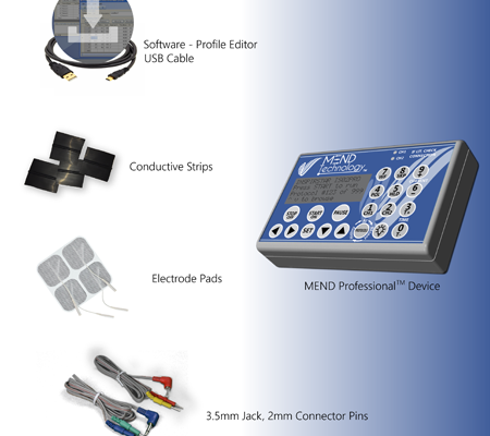 IS02PRO, conductive strips, Profile Editor Standard, sticky pads, and push pin leads